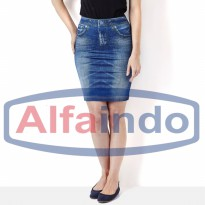 Shape Skirt jeans / Denim Shape Skirt / Rok Mini Jeans seksi