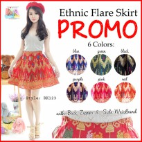 PROMO! High Quality Ethnic Flare Skirt Rok Batik! RK123-