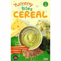 Yummy Bites Cereal 125 Gr - Multigrain With Cauliflower Broccoli