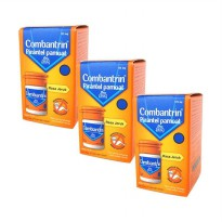 Combantrin 125mg/ml jeruk 10 ml (3 Botol)