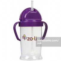 Zoli Straw Sippy Cup Bot XL 9 oz - Purple
