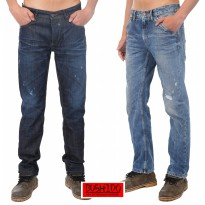 Bushido Jeans - Mens Denim pants -Slim cut Jeans - Indigoclusters