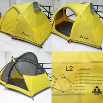 Tenda TOCUBIC Couple 2P Alloy