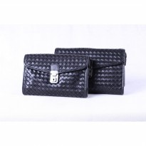 DOMPET PANJANG WANITA CLUTCH KULIT ASLI FTP D-982 WIN LEATHER