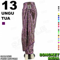 ROK LILIT Instan B115-13 Bahan Songket Batik Include Gasper Ring Belt