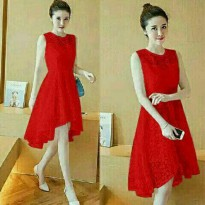 DRESS SNOW LQ BAHAN BRUKAT LAPIS FURING FIT TO L