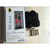 Bag Rack Organizer As Seen Tv Rak Tas Gantungan Gantung Belt Rapi & Te SJ0026