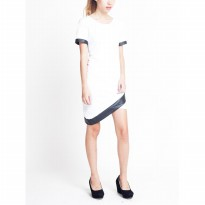 Asymmetrical Dress White