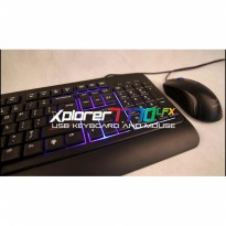 Keyboard + Mouse Alcatroz Xplorer 7770 Lfx (BUNDLE)