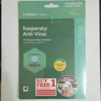 Kaspersky Antivirus 2018 1 User KAV
