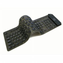 Keyboard Flexible with Numeric Keypad, Numpad, Full Size, Portable USB