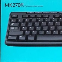 LOGITECH MK-270R Combo Keyboard dan Mouse Wireless