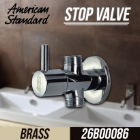 BIG DEAL! American Standard Stop Valve - Brass ( IN1-OUT2) A - 5602 Bahan Berkualitas Tinggi