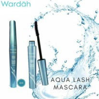 Wardah Aqua lash Mascara Waterproof - natural look. Must have item! 6gr