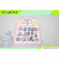 stiker sticker tempelan air bubble water the idolmaster idol m@aster