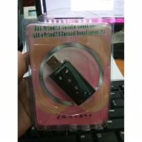USB Sound Card 7.1 Channel / USB to Jack 3.5mm Female 2in1 Mic & Audio