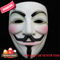 TOPENG VENDETTA HALLOWEEN GHOST MASK PESTA TOPENG MONSTER COSPLAY