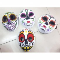TOPENG HANTU HALLOWEEN PESTA KOSTUM HALOWEEN BOOK OF LIFE COSPLAY