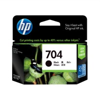 HP 704 Black Original Ink Advantage Cartridge