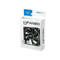 Deepcool Xfan 80 black - fan casing hitam 8cm