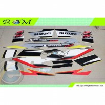 Striping Stiker Sticker Suzuki Smash 110 SR 2005 2006 kuning hitam