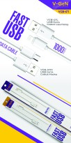 Kabel Data USB V-GeN VCB-07M Fast Charging (Kabel Data MicroUSB VGEN)