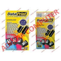 Tinta Data Print Dataprint HP DP 27 DP27 Hitam