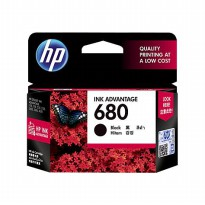 HP 680 Black Original Ink Advantage Cartridge