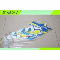 Striping Stiker Sticker body suzuki satria F FU 150 SE 2016 biru blue
