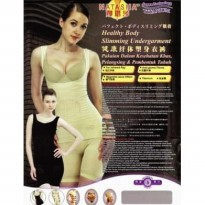 SLIMING SUIT NATASHA WITH INFRARED - SLIMMING BAJU PELANGSING bkn obat