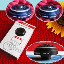 Universal fish eye 235° for mobile phone(iPhone, Htc, Samsung and etc) and digital camera