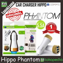 Car Charger HIPPO Phantom 5.5A With Smart IC Original 100% Chargeran