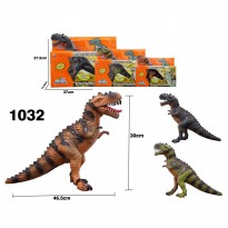 MSM Mainan Anak Dinosaur Tyrex Batere with Lights & Sounds 1032 - Warna Random