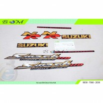 Striping Stiker Sticker suzuki SMASH 110 hitam NR  NIGHT RIDER 2008