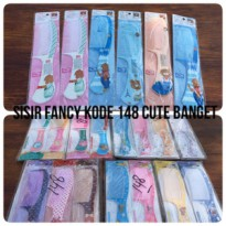 (12 PCS) Sisir fancy / sisir karakter