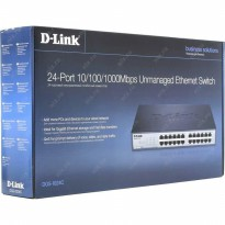 D-link DGS-1024C Unmanaged Switch 24-Port 10/100/1000 Mbps Unmanaged