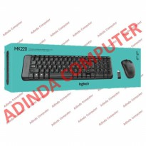 KEYBOARD & MOUSE WIRELESS LOGITECH MK220 ORIGINAL