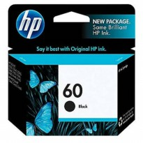Cartridge Printer HP 60 Black Original