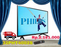 PHILIPS 32PHT4002S TV LED [32 Inch] FREE DELIVERY JADEBEK