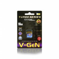 SD Card Vgen Turbo Series 16gb Class10 SDHC V-gen