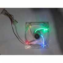 Fan Casing 12cm Lampu - Neon / Cooler Casing