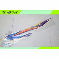 Striping Stiker Sticker list body suzuki smash 110 tahun 2003 biru