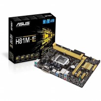 Motherboard / Mainboard ASUS H81M-E, DDR3 Socket 1150