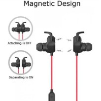JESBOD QY12 Bluetooth Sport Headphones Magnetic Wireless Noise Cancel