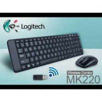 Keyboard Mouse Logitech Wireless Combo MK220 New