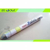 spidol marker ban tyre toyo paint warna kuning yellow