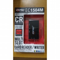 EPRO EC1504M USB HUB + Card Reader Writer Multi Slot