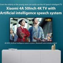 Xiaomi 4A 50Inch 4K TV with Built in TV Box And AI Speech Recognition