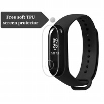 Xiaomi Mi Band 3 Smart Bracelet Free soft TPU screen protector