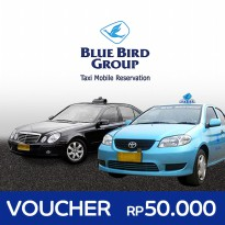 [Voucher] BlueBird Group TAXI - RP.50.000